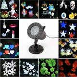 LED Christmas light projector with 12 patterns,Item Code:PR12CH03