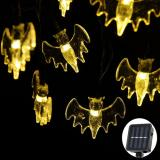 30 LED 20ft  Warm White Bat Lights String for Patio Garden Fairy String Lights 6M/Christmas Decoration Item Code:30BAWWSO